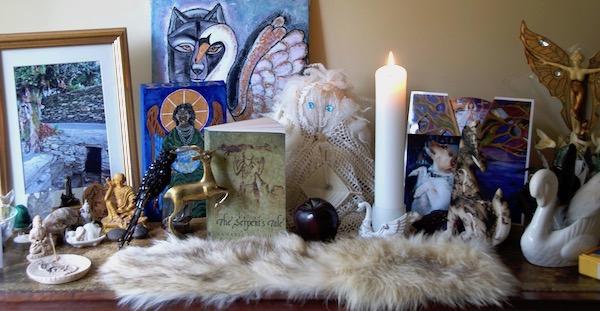 Annabel Du Boulay Imbolc Altar