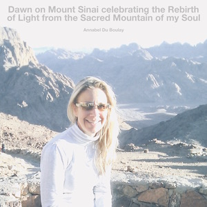 Annabel Du Boulay Philosophia Wheel Winter Solstice Mount Sinai