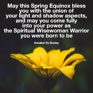 Annabel Du Boulay Spring Equinox