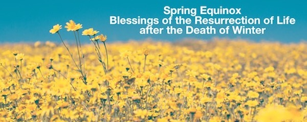 Annabel Du Boulay Spring Equinox Blessings of Resurrection