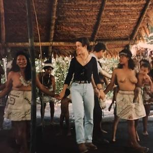 Annabel Du Boulay Drumming Dancing Women Tribe Peruvian Amazon