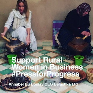 Annabel Du Boulay International Womens Day 2018 Supporting Rural Women in Business