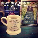 Annabel Du Boulay March Meet The Maker Work Routine