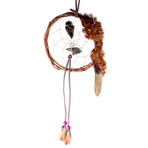 Double Eagle Dreamcatcher Purple-Brown
