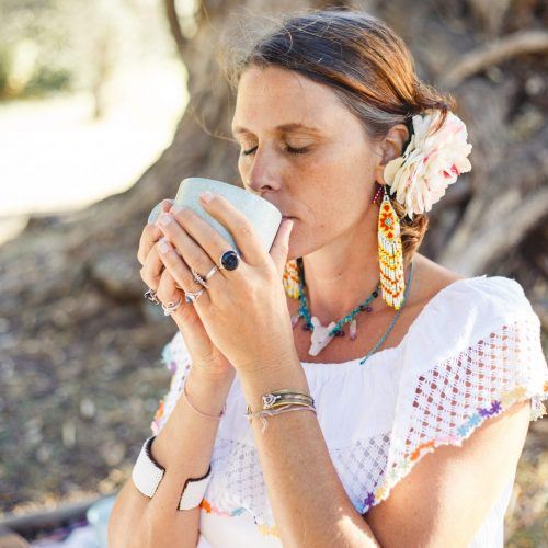 Maren Lander Annabel Du Boulay Full Moon Womb Healing Cacao Ceremony