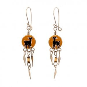 Annabel Du Boulay Shop Peruvian Gourd Earrings