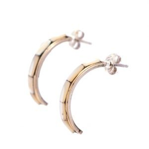 Annabel Du Boulay Shop Mother of Pearl Zuni Earrings