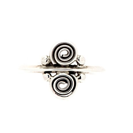 Annabel Du Boulay Shop Silver Spiral Ring
