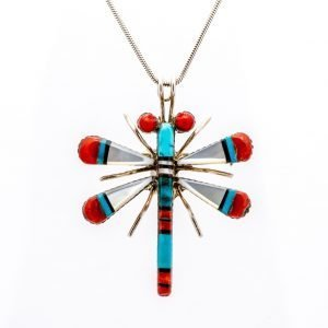 Annabel Du Boulay Shop Zuni Dragonfly Pendant