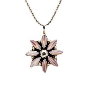 Annabel Du Boulay Shop Zuni Flower Pendant