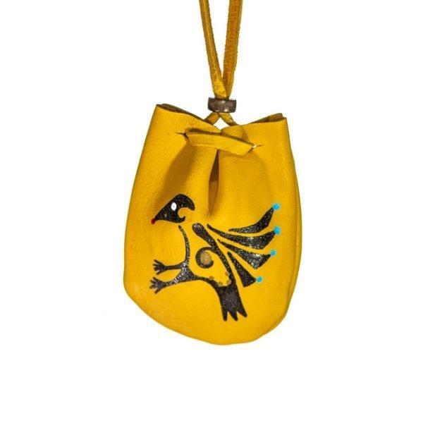 Annabel Du Boulay Shop Raven Medicine Pouch