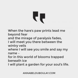 Annabel Du Boulay Blog Poem