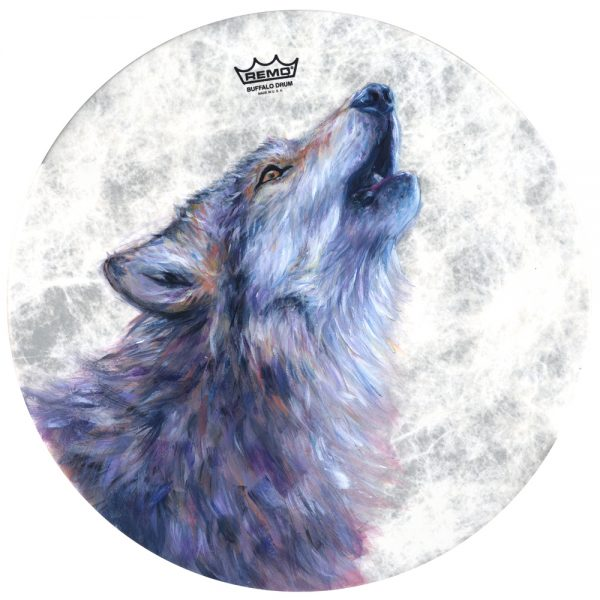 Annabel Du Boulay Shop Wolf Remo Drum