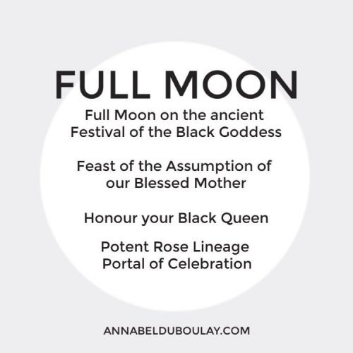 Full Moon Ancient Festival Black Goddess_Annabel Du Boulay