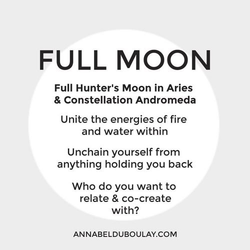 Full Moon 13.10.19 Annabel Du Boulay