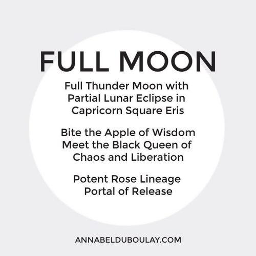 Full Moon Thunder Moon Annabel Du Boulay