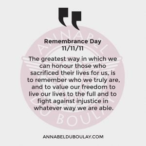Remembrance day quote