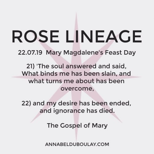 Rose Lineage 22.07.19 Annabel Du Boulay
