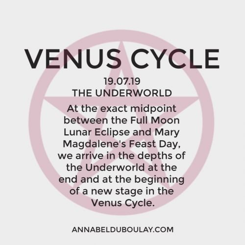 Venus Cycle 19-07-19