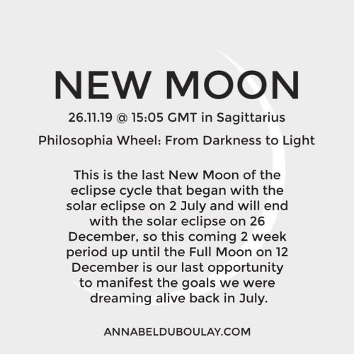 New Moon 26.11.19 - Annabel Do Boulay
