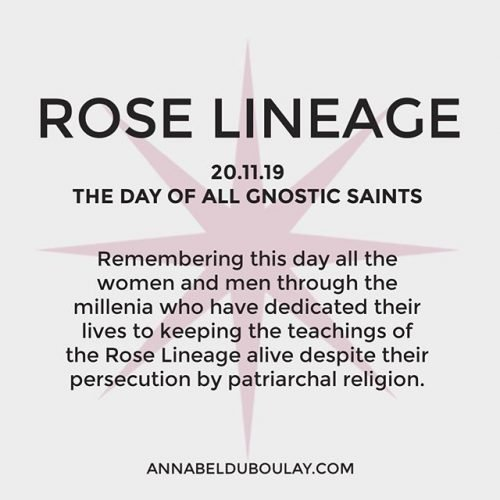 Rose Lineage 20.11.19 - Annabel Du Boulay