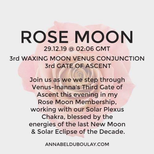 Rose Moon 29.12.19 - Annabel Du Boulay