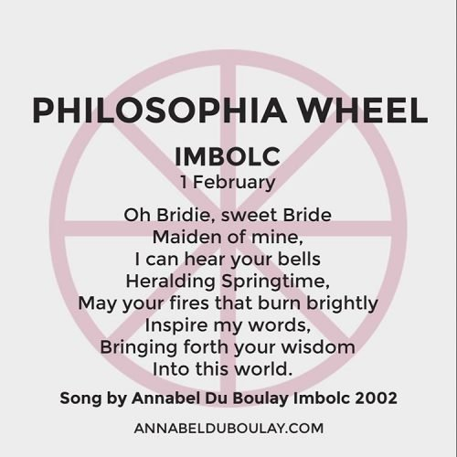 Philosophia Wheel Annabel Du Boulay