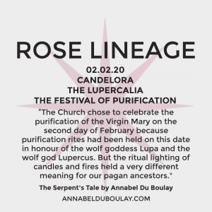 Rose Lineage 02.02.20 Annabel Du Boulay