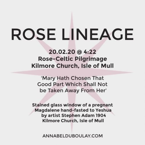 Rose Lineage 20.02.20 Annabel Du Boulay