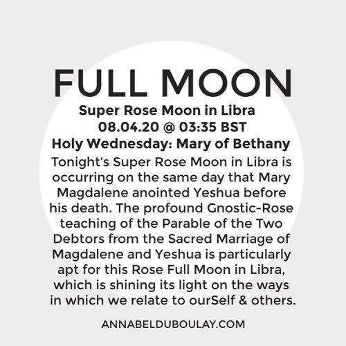 Full Moon 08.04.20 - Annabel Du Boulay