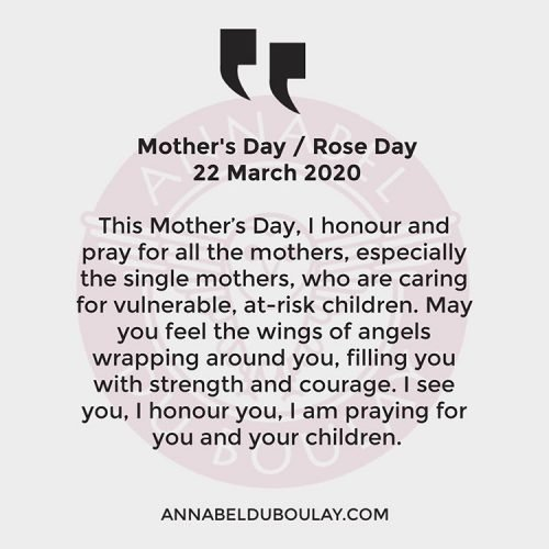 Happy Mothers Day Annabel Du Boulay