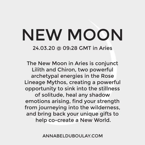 New Moon 24.03.20 Annabel Du Boulay