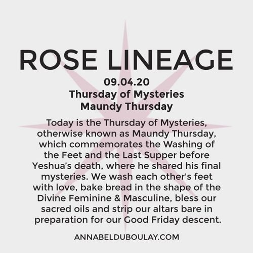 Rose Lineage 09.04.20 - Annabel Du Boulay