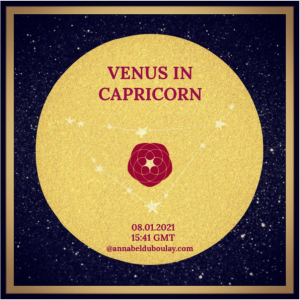 Annabel DuBoulay - venus in capricorn