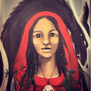 Annabel DuBoulay - full moon wolf blessings